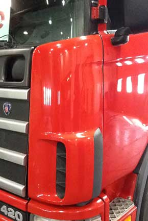 Truck cabin polishing services